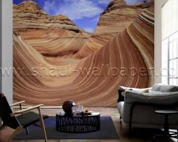 תמונת טפט תלת מימד גבעות במדבר