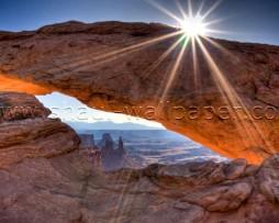תמונת טפט תלת מימד הר קשתי