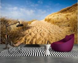 תמונת טפט תלת מימד חול מדבר