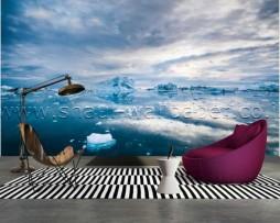 תמונת טפט תלת מימד קרחונים