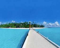 תמונת טפט תלת מימד גשר אל האי