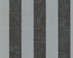טפטים מעוצבים פסים מאבנים אפור שחור