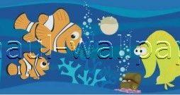 בורדר לקיר דגים בים