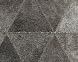 טפט לקיר דמוי עור משולשים בגווני אפור