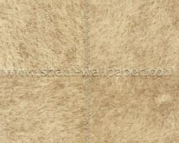 טפט לקיר דמוי עור מרובעים בגוון חאקי
