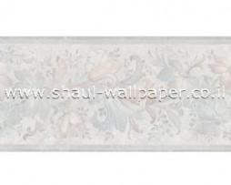 בורדר לקיר פרחים קלאסיים