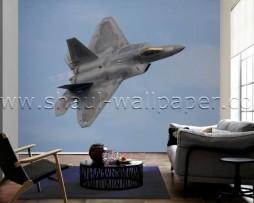 תמונת טפט תלת מימד מטוס קרב
