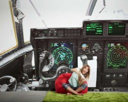 תמונת טפט תלת מימד תא הטייס