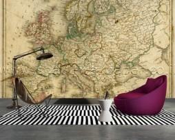 תמונת טפט תלת מימד מפה עולמית