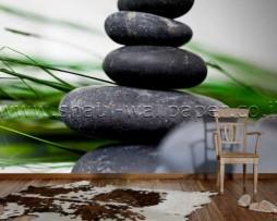 תמונת טפט תלת מימד ארבעה אבנים