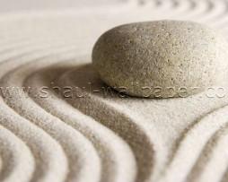 תמונת טפט תלת מימד אבן על חול