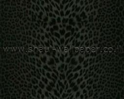 טפט לקיר מנומר שחור