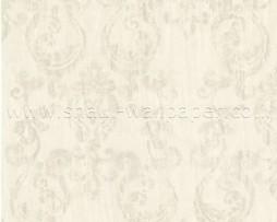 טפט לקיר עיטורים דהויים ברקע כפלים