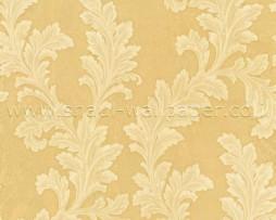 טפט לקיר עלים ברקע זהב