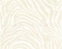 טפט לקיר זברה אפור לבן