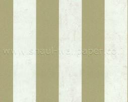 טפט לקיר פסי זהב ברקע לבן ווש