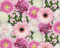 טפטים לארונות, טפט לעץ פרחים צבעוניים