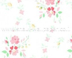 טפטים לארונות, טפט לארון פרחים ורודים עדינים