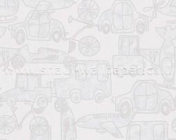 טפט לחדר ילדים ונוער מכוניות ומטוסים