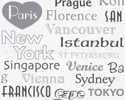 טפט לקיר שמות ערים בעולם