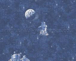 טפט לקיר אסטרונאוטים בחלל