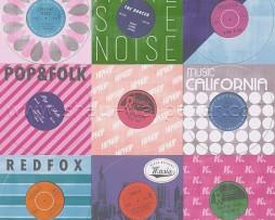 טפט לקיר תקליטים צבעוניים