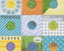 טפט תקליטים צבעוניים