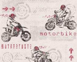 טפט לקיר גרפיטי אופנועים