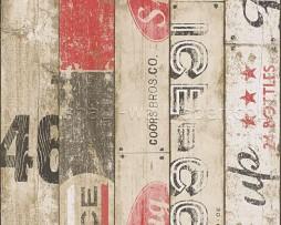טפט גרפיטי על לוחות עץ
