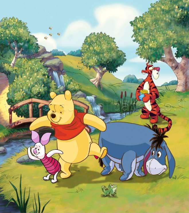 תמונת טפט דיסני פו הדב וחבריו ביער