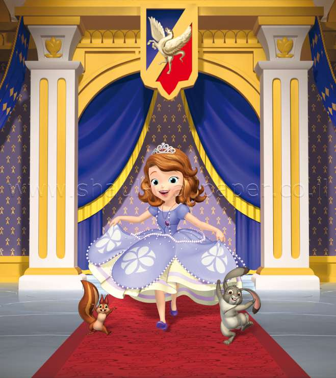 תמונת טפט דיסני הנסיכה סופיה