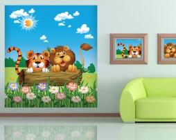 תמונת טפט חיות מצוייר לילדים