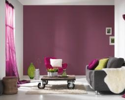 טפט לקיר חלק נוצץ עדין בגוון סגול