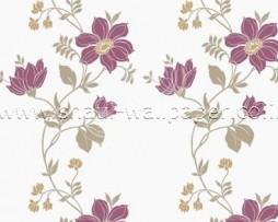 טפט לקיר פרחים סגולים