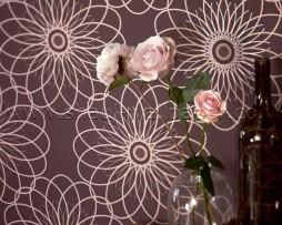 טפט פרח שמש סגול