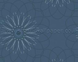 טפט פרח שמש כחול