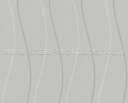 טפט פסים אסימטריים ברקע אפור
