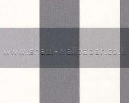 טפט לקיר ריבועים שחור לבן אפור