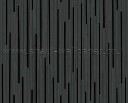 טפט שחור פסים עדינים מודרני