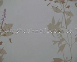 טפט לקיר ענפים ברקע אפור