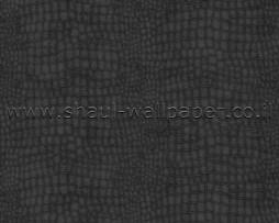 טפט דמוי עור תנין שחור