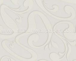 טפט לקיר צורות מעניין בגוון אפור