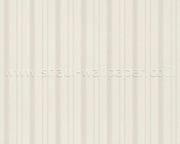טפט לקיר א-סימטרי בגוון לבן