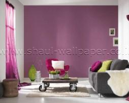 טפט לקיר שתי וערב בצבע סגול לילך