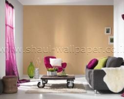 טפט לקיר שתי וערב בצבע כתום
