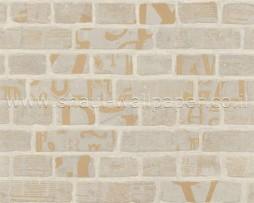 טפט גרפיטי על קיר לבנים