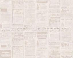 טפט לקיר עיתון בגוונים דהויים