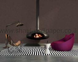 טפט לסלון ווש חום