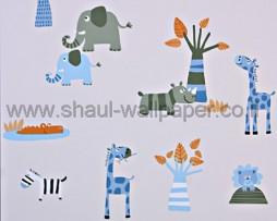 טפט לילדים חיות היער