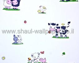 טפט לילדים חיות בחווה